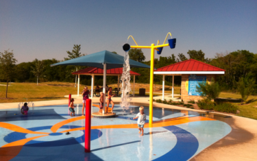 Splash Pad Feature: Falcon Pointe in Pflugerville