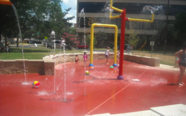 Splash Pad Feature: Bailey Park