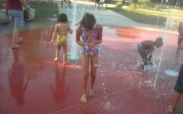 Splash Pad Feature: Bartholomew Park