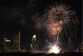 Austin fireworks on July 4, 2013. Photo: Flickr user Roy Niswanger, creative commons licensed.