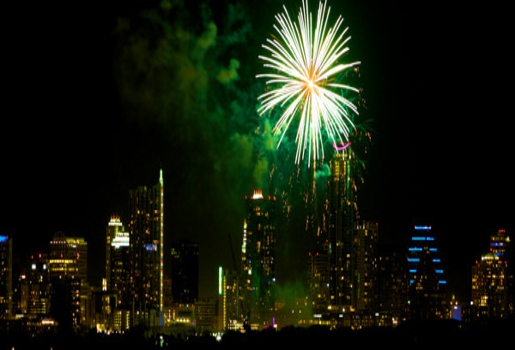 We Got Your Austin 4th of July Fireworks Video Right Here