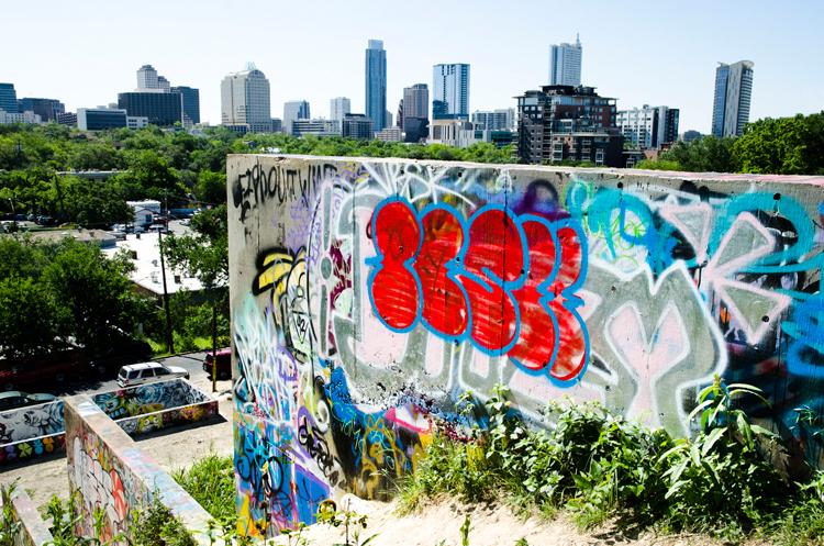 hope outdoor graffiti gallery mural public skyline