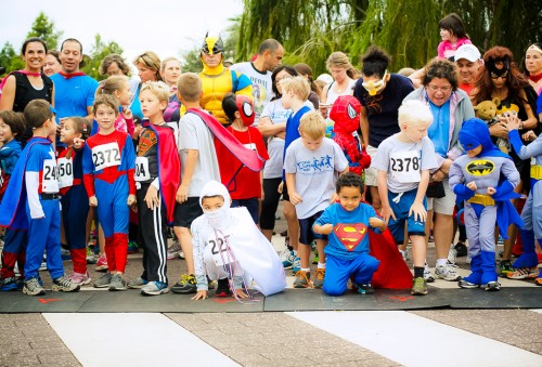 casa superhero run austin 5k 1k race