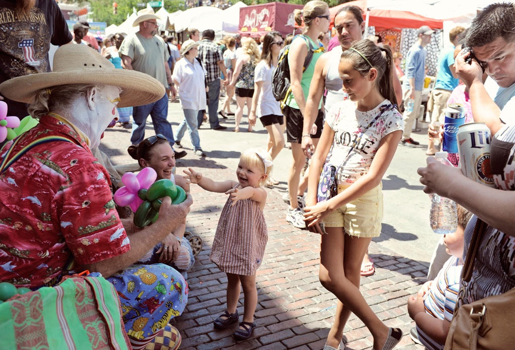 Experience Sixth Street's Artsy Side At Austin's Pecan Street Festival