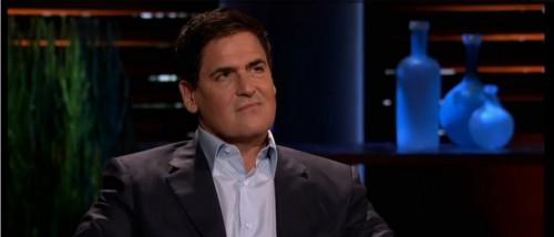 "Billionaire investor and ""Shark Tank"" star Mark Cuban. Screenshot AOL On Entertainment."