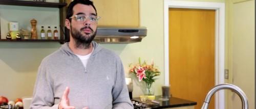 Aaron Franklin, founder of Franklin BBQ. Screenshot via YouTube.