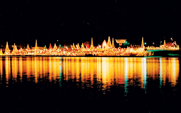 The Walkway of Lights. Photo: DailyTrib.com