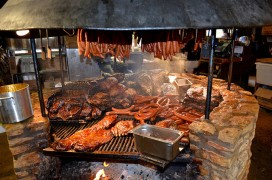 The pit at the Salt Lick BBQ in Driftwood. Photo Flickr user Necessary Indulgences, CC licensed