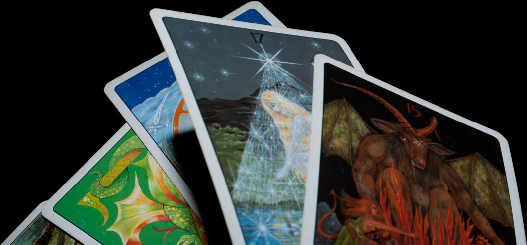Tarot cards. Photo: Flickr user Derek Gavey, creative commons licensed.