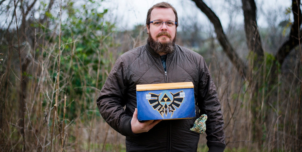 This Street Artist Creates Legit Zelda Artifacts And Hides Them Around Austin