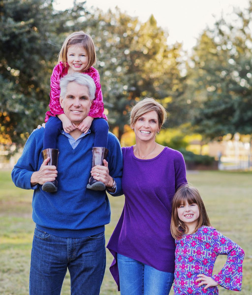 Kathy Terry and family. Courtesy photo.