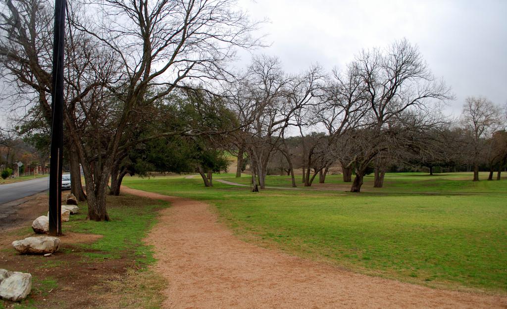 hancock golf course along 41st st by Joe Wolf