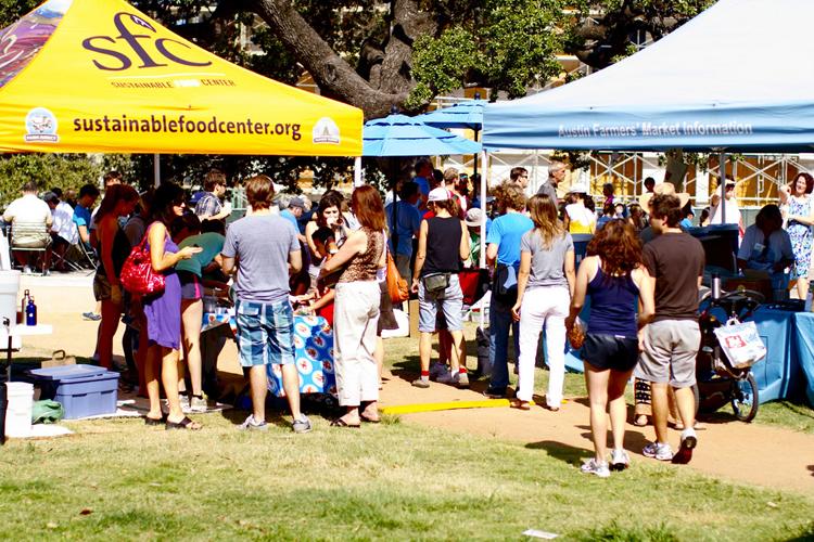 republic square park sfc farmers market austin sustainable natural organic produce
