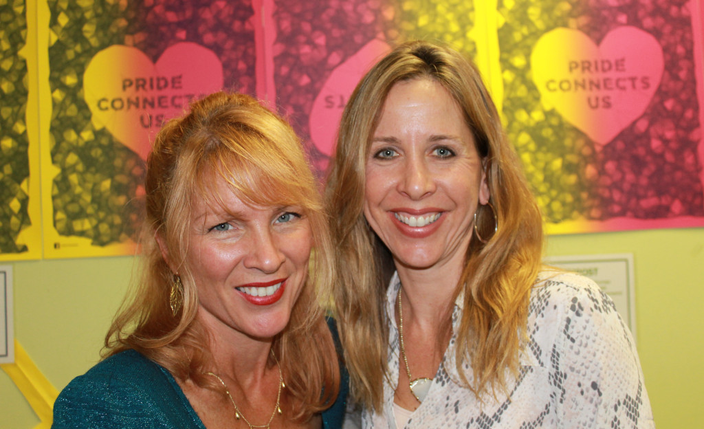 Angela Plunkett (left) and Georgia Nolan.