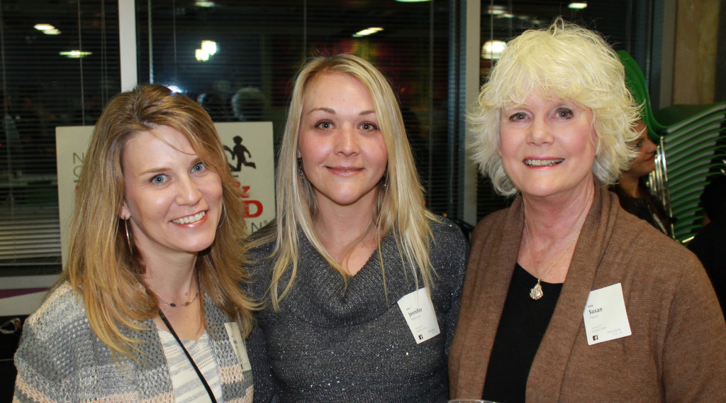 Aurora Farthing (left), Jennifer Robinson, and Susan Hance.