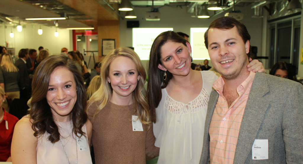 Emily Boyd (left), Avery Addison, Madeline Grenadier, and Drew Fish.