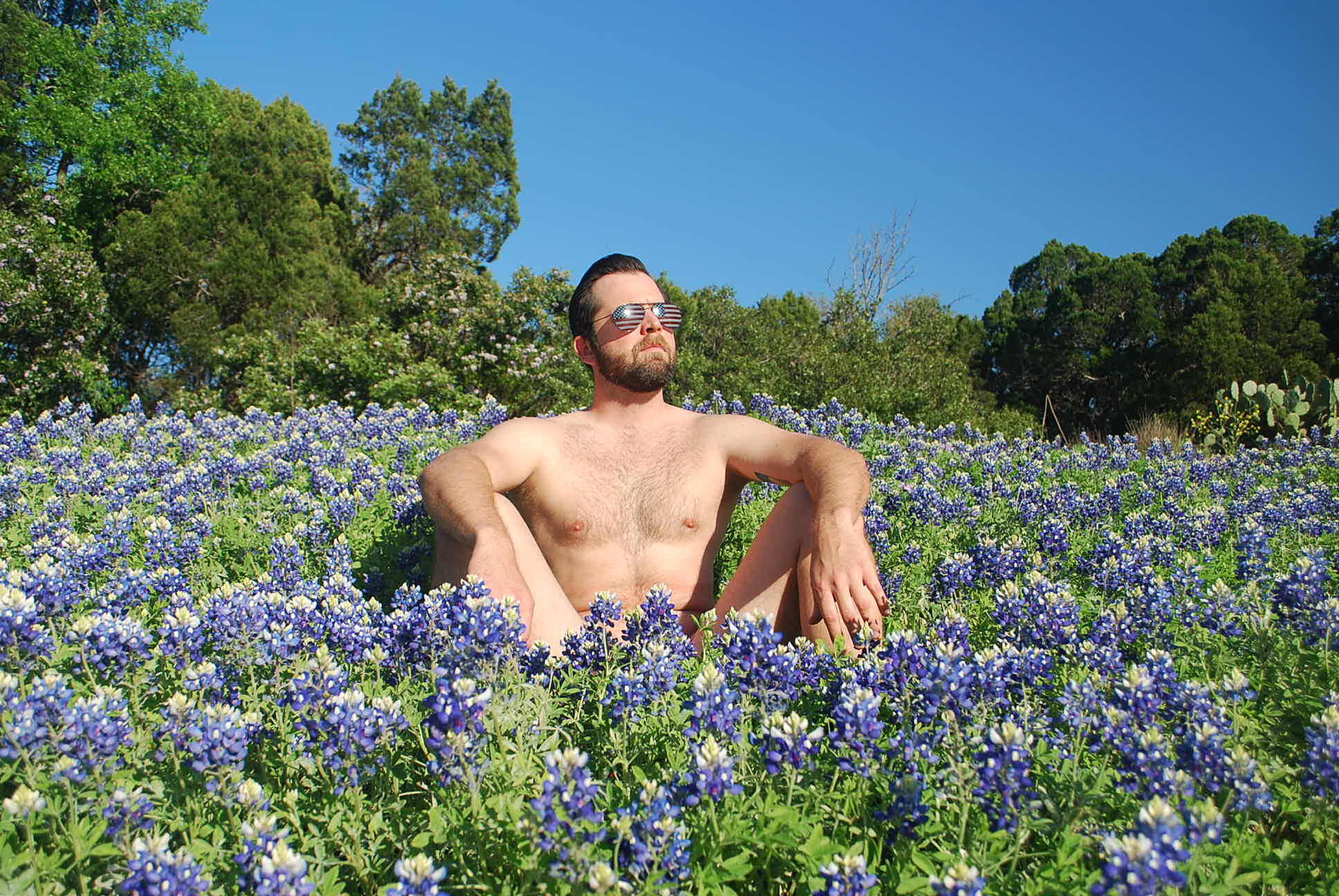 The Owner Of Austin Key Guy Loves Bluebonnets WAY Too Much
