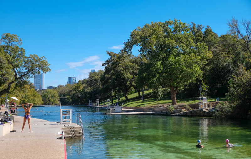 Coming Soon to Barton Springs: Free Admission for Octogenarians
