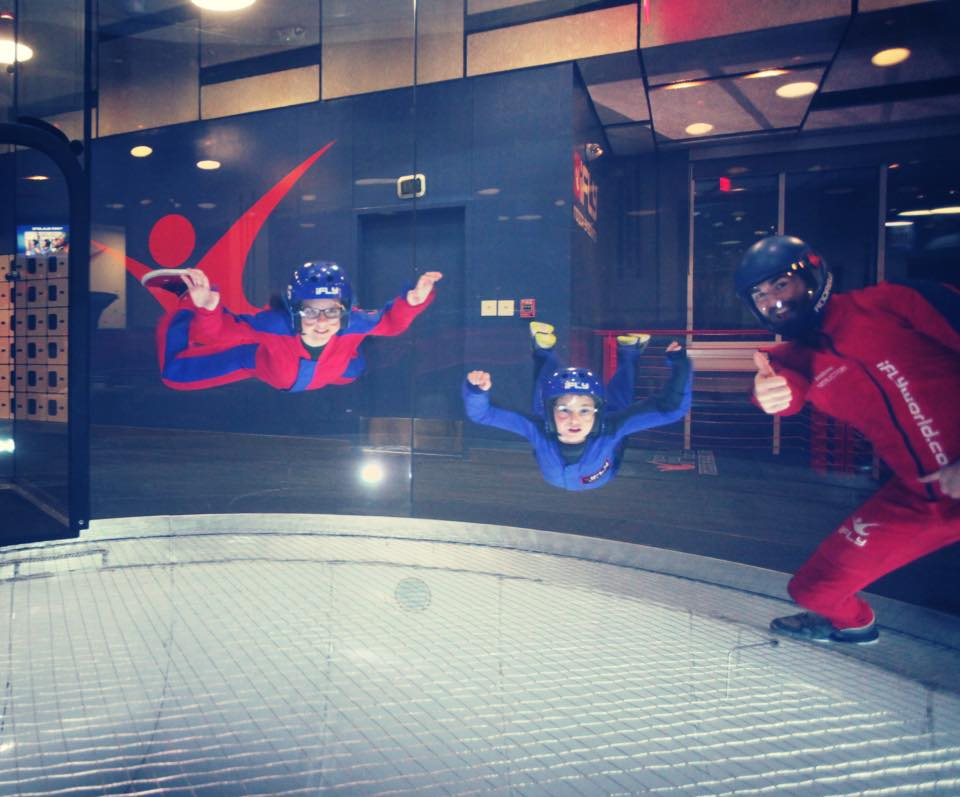 Courtesy, iFly Austin on Facebook.