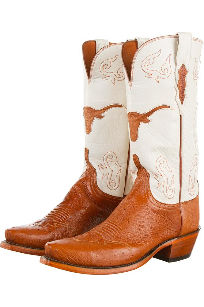 Ladies Lucchese Texas Longhorn Scholarship Boots