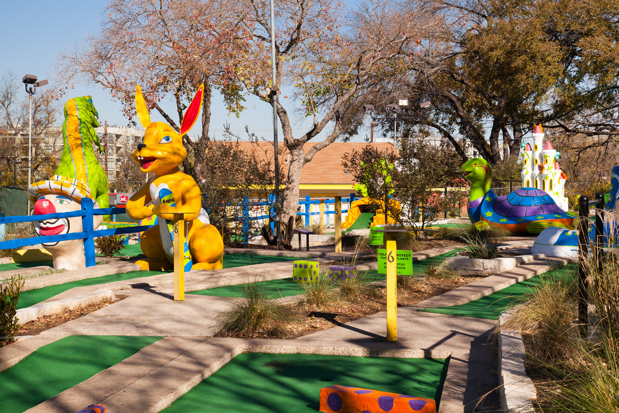 Austincom This Is Why Peter Pan Mini Golf Is So Loved By Austinites