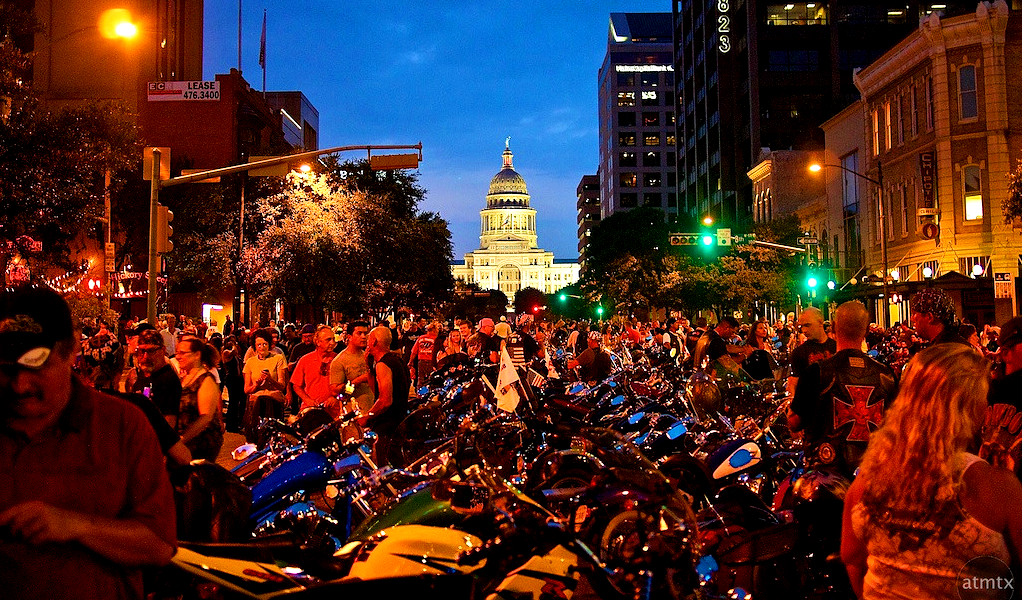Austin Police Are On High Alert Ahead Of This Year's Republic Of Texas Biker Rally