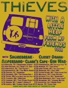 thieves tour poster