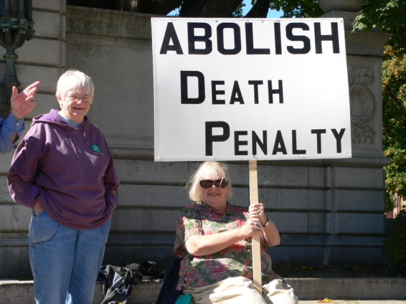 Rally against the death penalty held at State Capitol