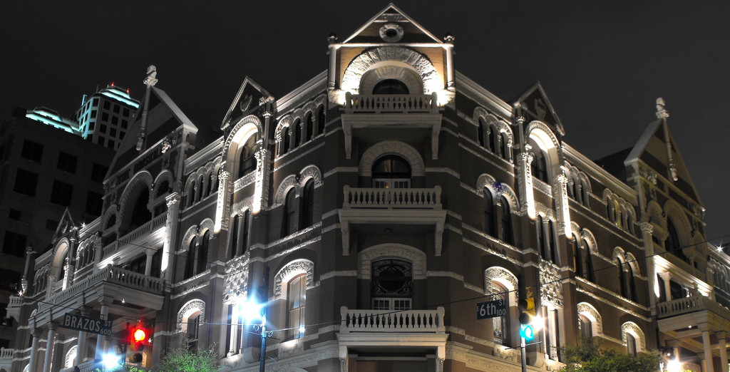 Stay Overnight At The Most Haunted Hotel in Austin
