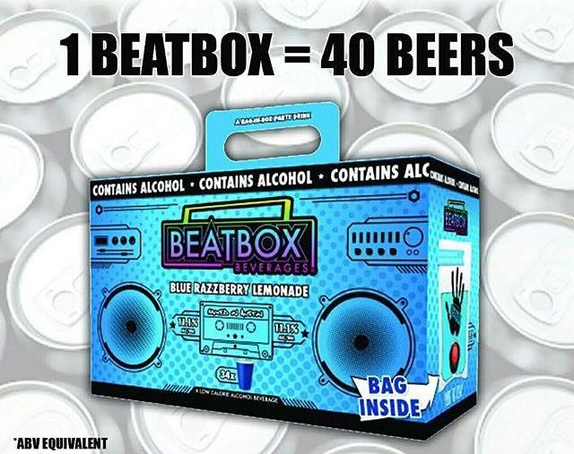 "<I>Photo: <a href=""https://www.facebook.com/BeatboxBeverages"" target=""_blank"">Beatbox Beverages on Facebook</a>.</I>"