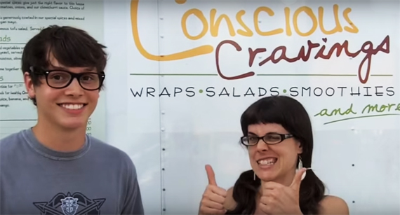 happycow food trailer vegan conscious cravings wraps salads