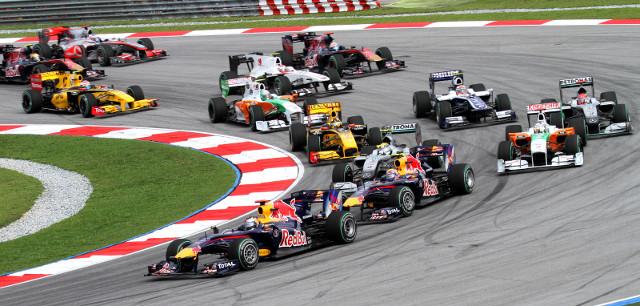Rain may put damper on Formula 1 Fan Fest