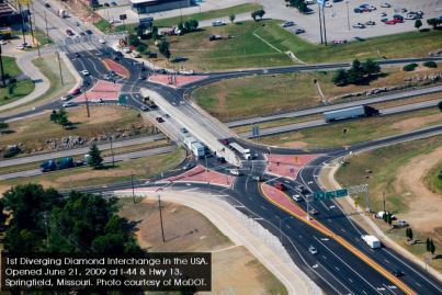 TxDOT Will Detail Its 'Diverging Diamond' Plan For I-35 At Round Rock Open House