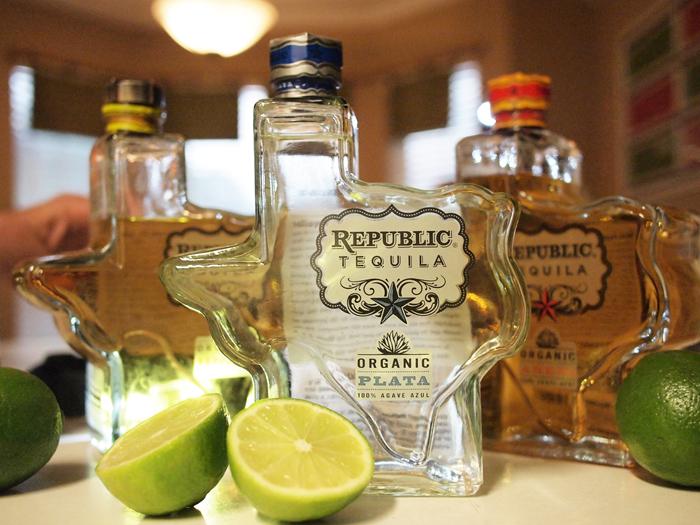 Republic Tequila liquor vodka alcohol mini 50ml case drink