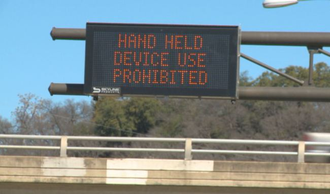 Austin's 'Hands Free' Driving Rule Triggers 5,000+ Citations