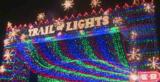 News Crew Films Trail Of Lights Marriage Proposal