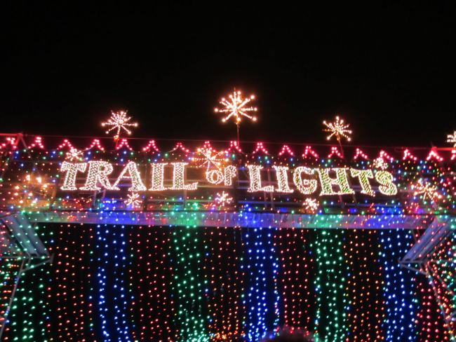 Austin's Famous, Annual Trail Of Lights Opens Tonight!