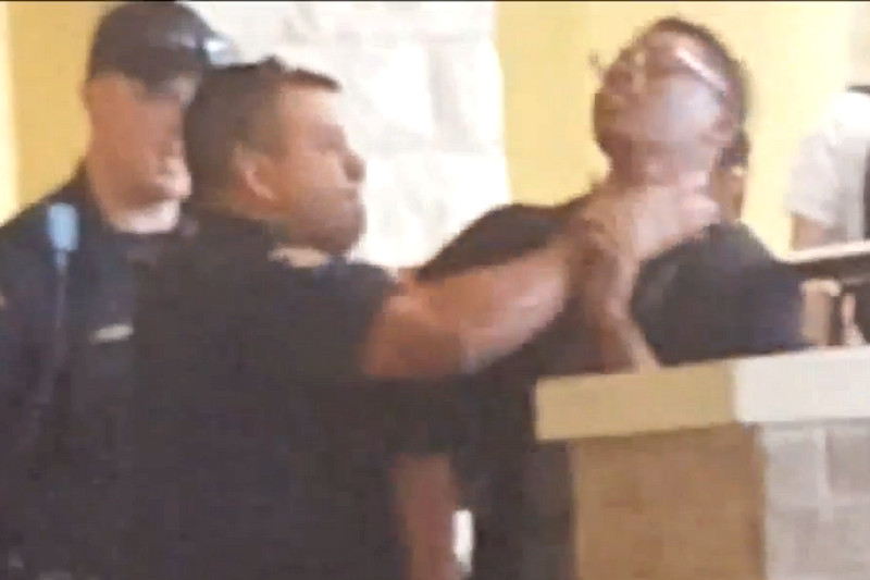 Round Rock Cop Filmed Grabbing Teen's Throat 'Cleared' After Probe