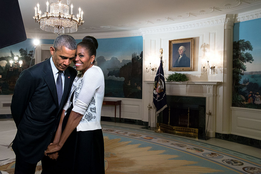 Barack and Michelle Obama. Photo: The White House on Flickr.