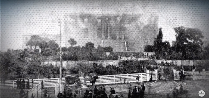 great capitol fire 1881 burned down