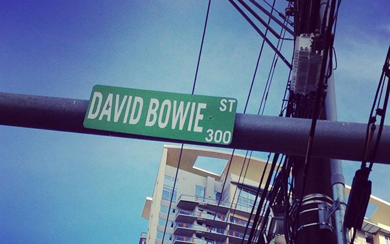 Austin Is Probably Going To Remove The 'David Bowie Street' Sign This Week