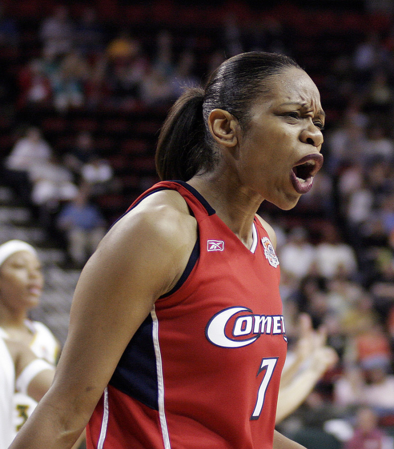 Before coming to Texas, Tina Thompson was a Four-Time WNBA Champion With the Houston Comets (Photo Credit: Flickr Creative Commons)