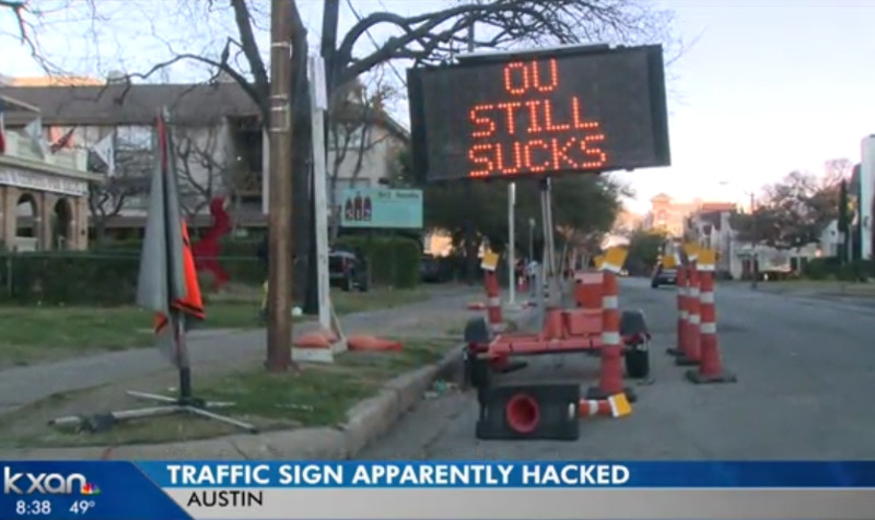 It's Hard To Disagree With This Austin Traffic Sign
