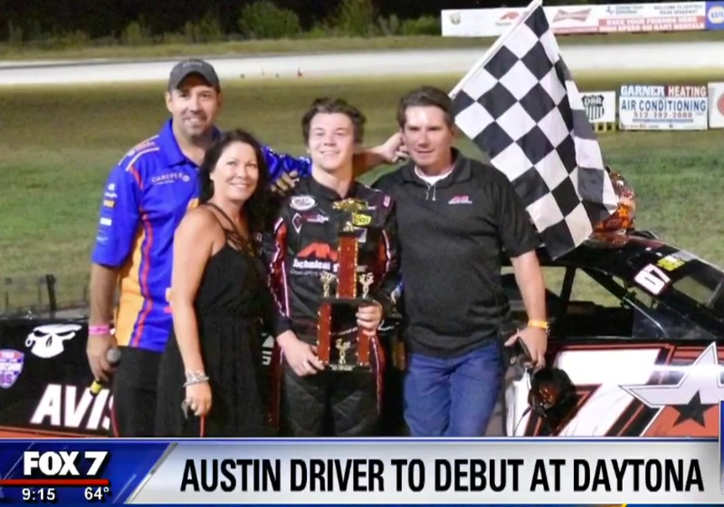 This Central Texas Teen Will Be Racing NASCAR At Daytona!
