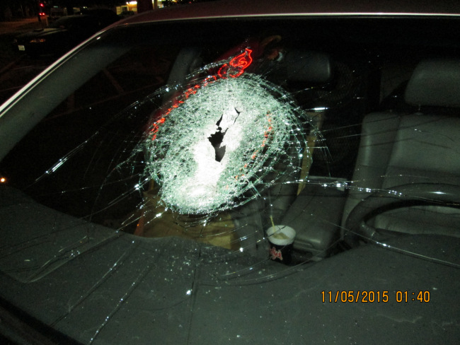 APD: Try Using Outside Lanes To Avoid Rock Throwers
