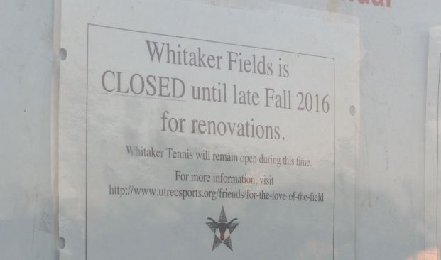 UT Austin's Intramural Fields Are Getting A Huge Makeover