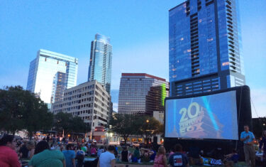 Austin Parks Foundation's Free Movies in the Park Fall 2017 Schedule