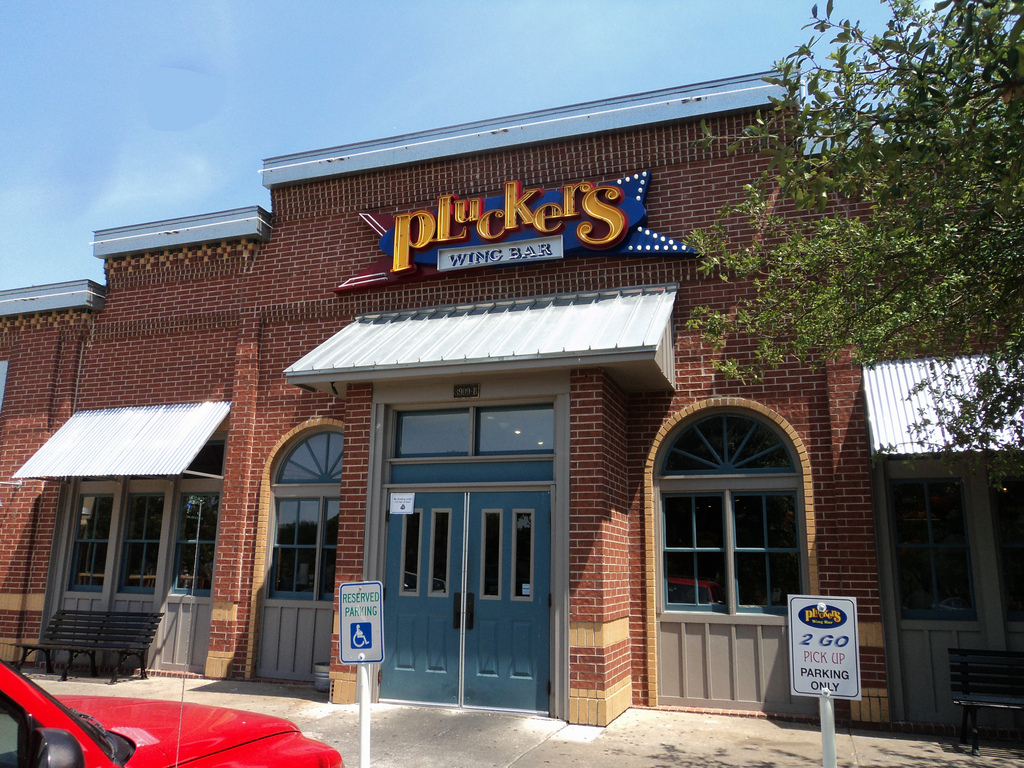 The chance to win free wings for a year? Who wouldn't want to be at Pluckers for Super Bowl Sunday?