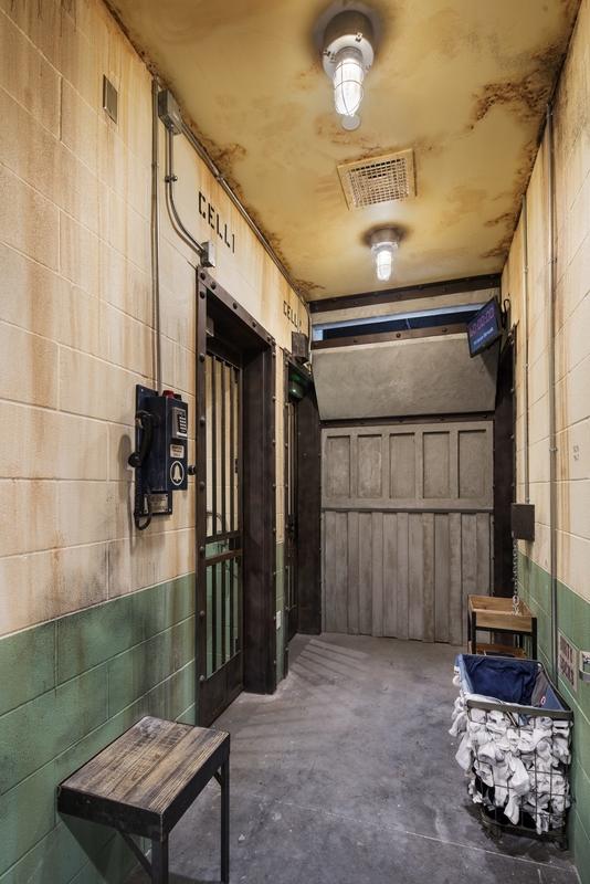 prison break room at The Escape Game in Austin