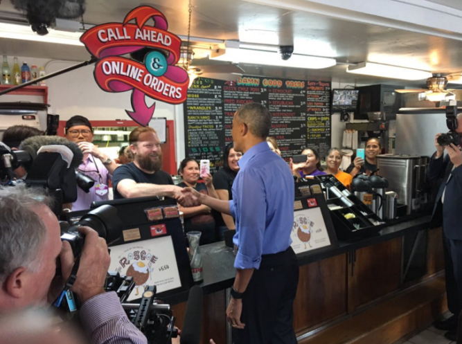 Did Obama Just Pick Austin In The Great Taco War? Sure Seems Like It!
